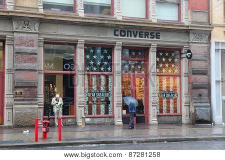 Converse Store, Manhattan