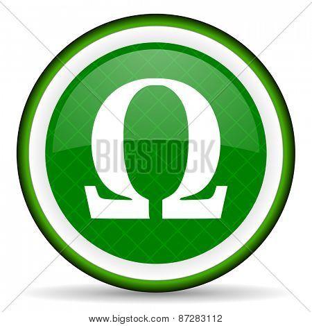 omega green icon