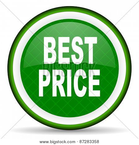 best price green icon