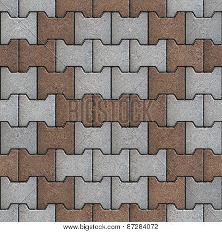Pattern Pavement Laid of  Polygon.