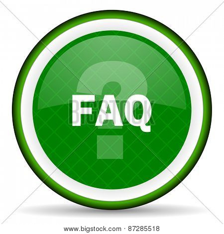 faq green icon