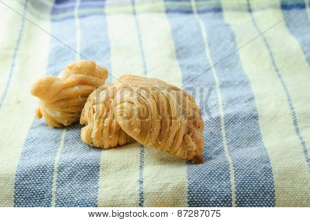 Asian Food Curry Puff