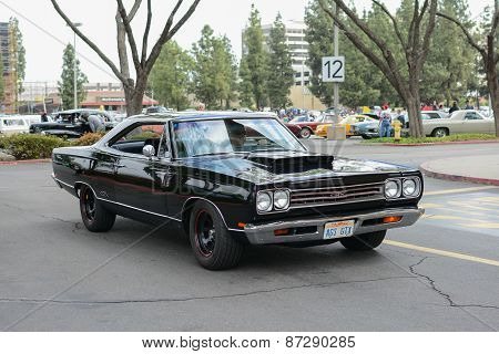 Plymouth Gtx Classic Car On Display