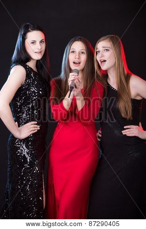 Three Beautiful Female Vocalists