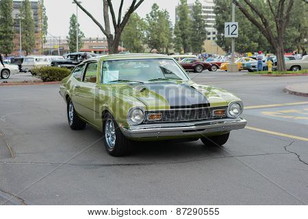 Ford Maverick Classic Car On Display