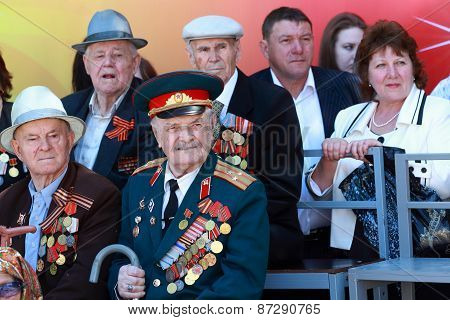 Veterans Of The Wwii During The Parade