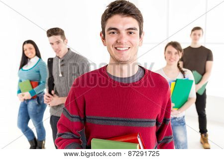 Man Student