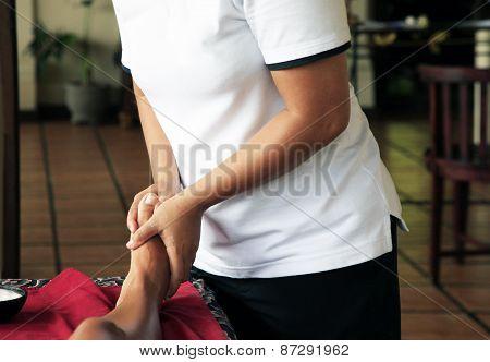 Massage Of Legs