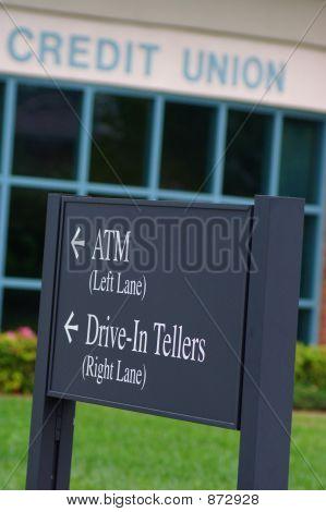 Bank-Zeichen