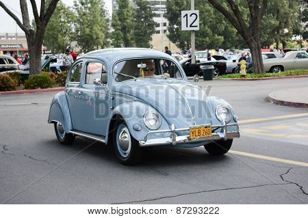Volkswagen Beetle Classic Car On Display