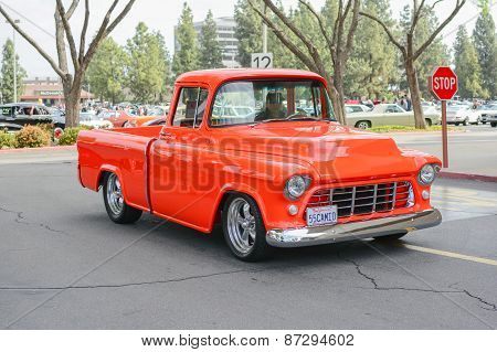 Chevrolet Classic Truck On Display