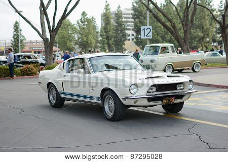 Ford Mustang Shelby Gt350 Classic Car On Display