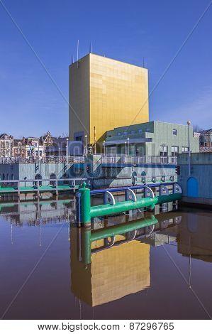 Modern Building Of The Groningen Museum