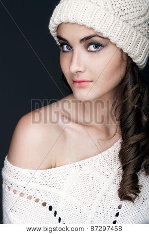 Winter Portrait Girl