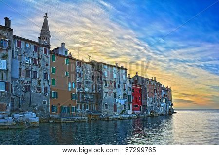 Rovinj In Istria