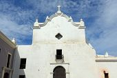 stock photo of san juan puerto rico  - San Jose Church - JPG