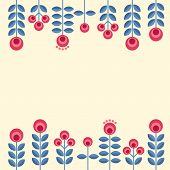 Постер, плакат: Scandinavian Flowers