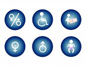 pic of handicapped  - Restroom Male - JPG