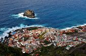 picture of canary  - View of the town of Garachico Tenerife Canary Islands Spain - JPG