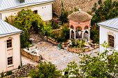 stock photo of gethsemane  - Gethsemane chapel is in  the Assumption Monastery of the Caves - JPG