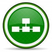 picture of cisco  - database green icon   - JPG