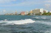 foto of san juan puerto rico  - Condado is a upper class community at east of the Old San Juan - JPG