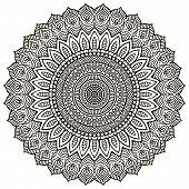 image of ottoman  - Mandalas collection - JPG