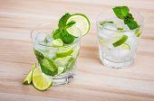 stock photo of lime  - Lemonade - JPG