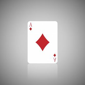 pic of quadrangles  - The Number A Quadrangle in Playing card - JPG