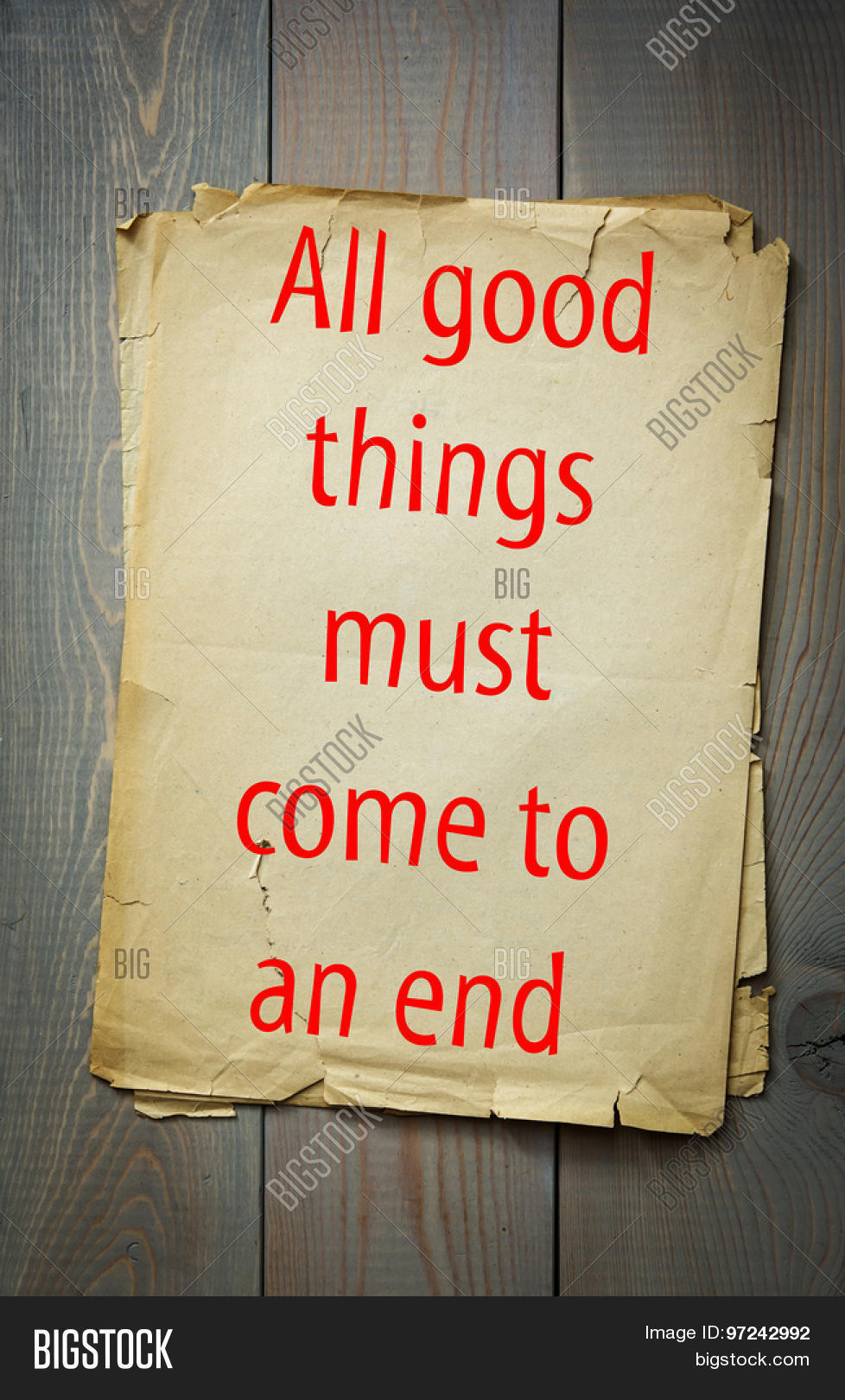 english proverb all good things image photo bigstock english proverb all good things must come to an end 50 most important english