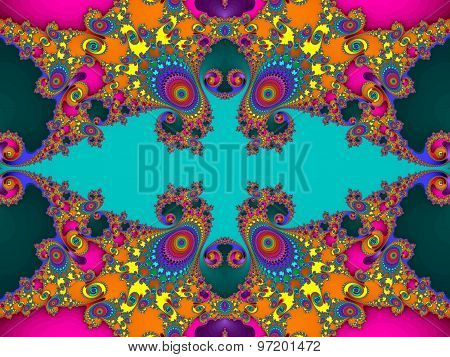 Fabulous Colorful Abstract Background. Artwork For Creative Design, Art And Entertainment. Computer