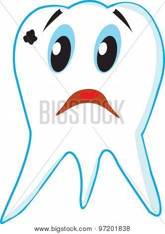 Sad Tooth Caries