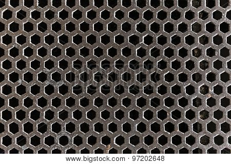Steel Grating Covering Sewer