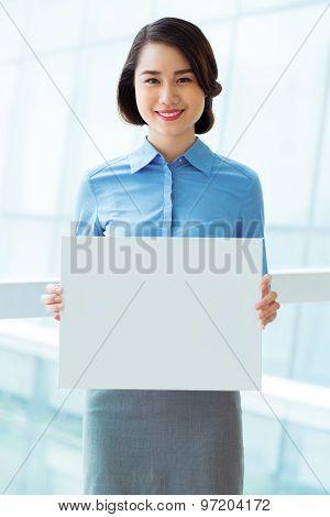 Empty White Board