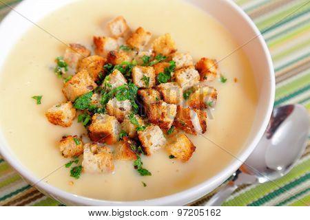 Chestnut Cream Soup