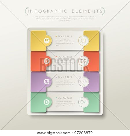 Step by step business concept.