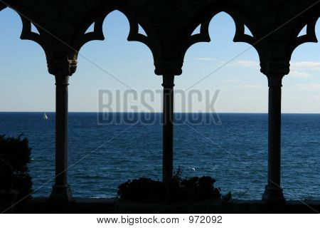 View Of The Atlantic Ocean From Hammond Castle