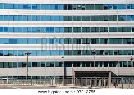 Detail Of A Facade Of A Modern Building