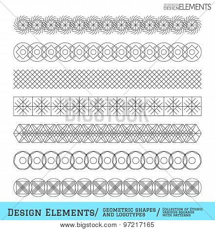 Set Of Geometric Hipster Shapes And Logotypes65488851
