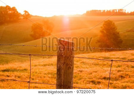 Country side Sunrise