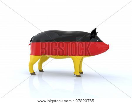 Pork German Flag