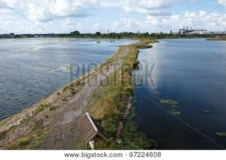 Lake Liepaja, Latvia