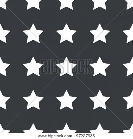 Straight black star pattern