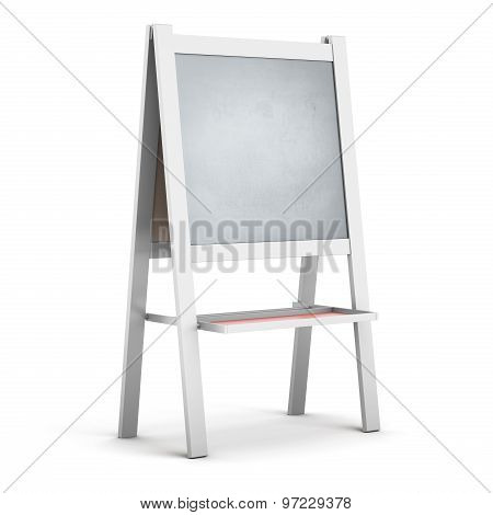 Easel In A White Frame