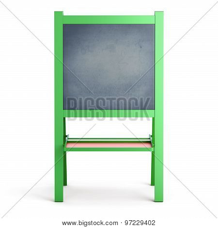 Easel On A White