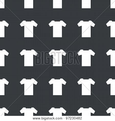 Straight black T-shirt pattern