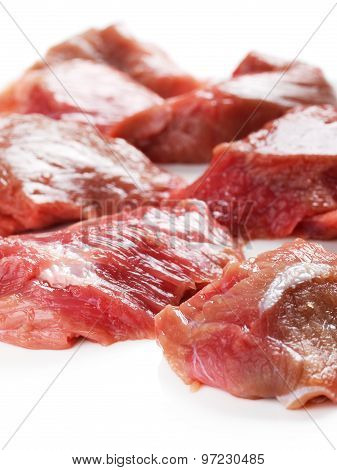 Raw Veal Meat