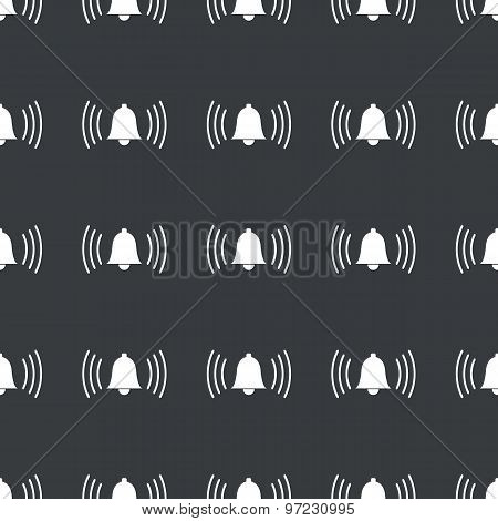 Straight black alarm pattern