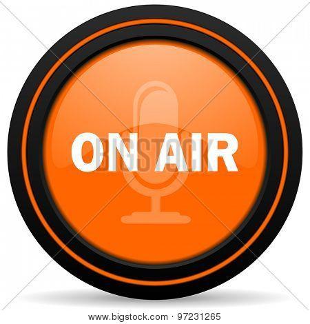 on air orange icon