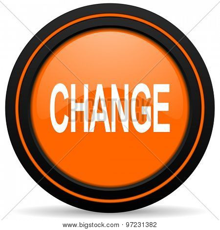 change orange icon
